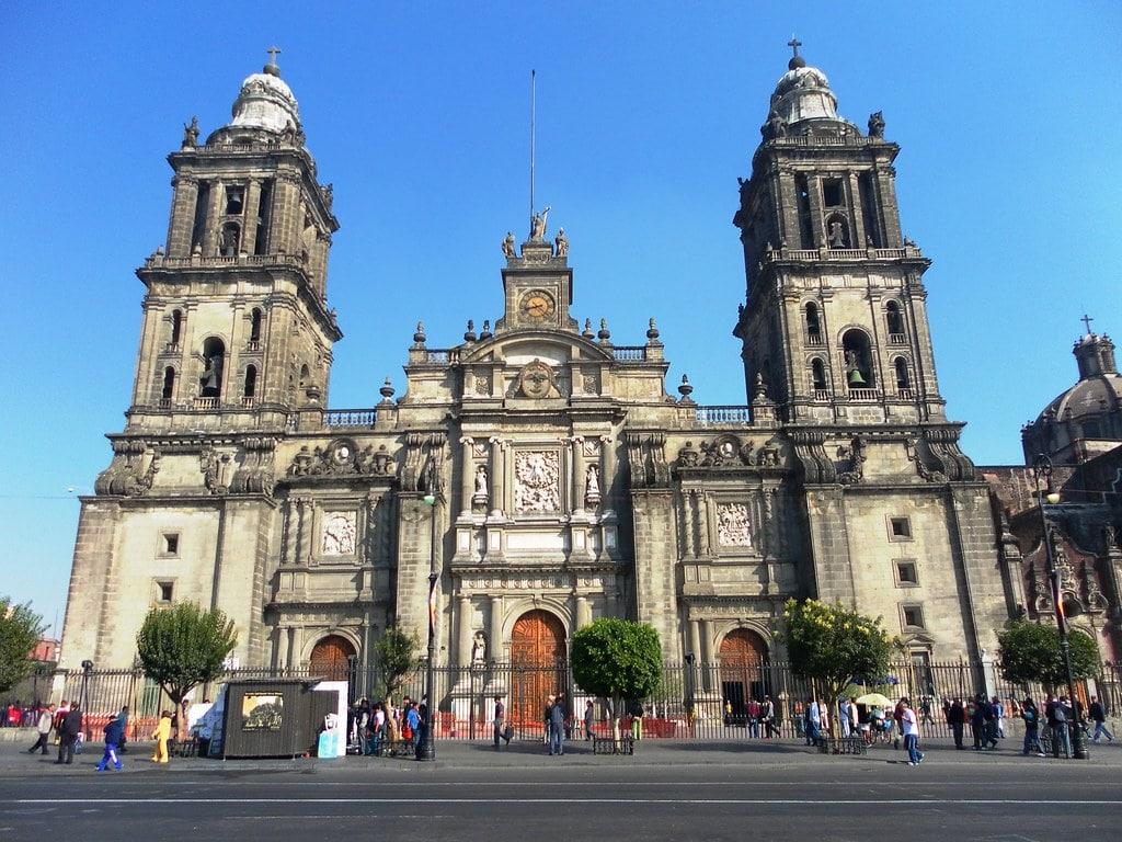Climbing the bell towers at Catedral Metropolitana is one of the best things to do in Mexico City