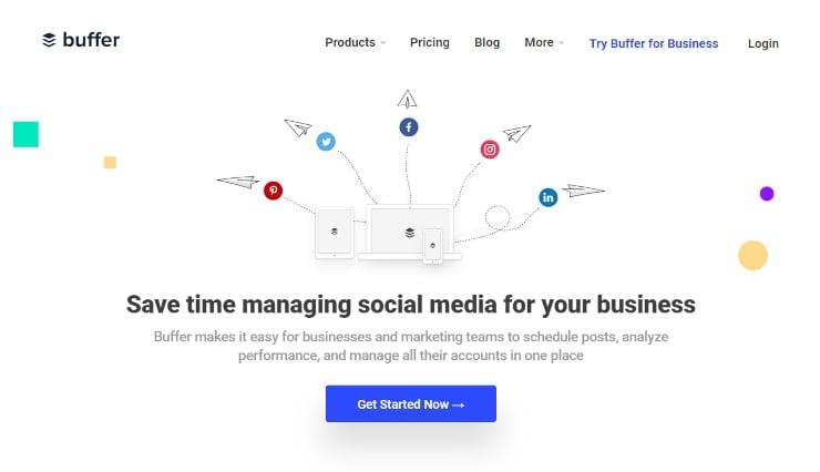 Buffer social media marketing for nonprofits