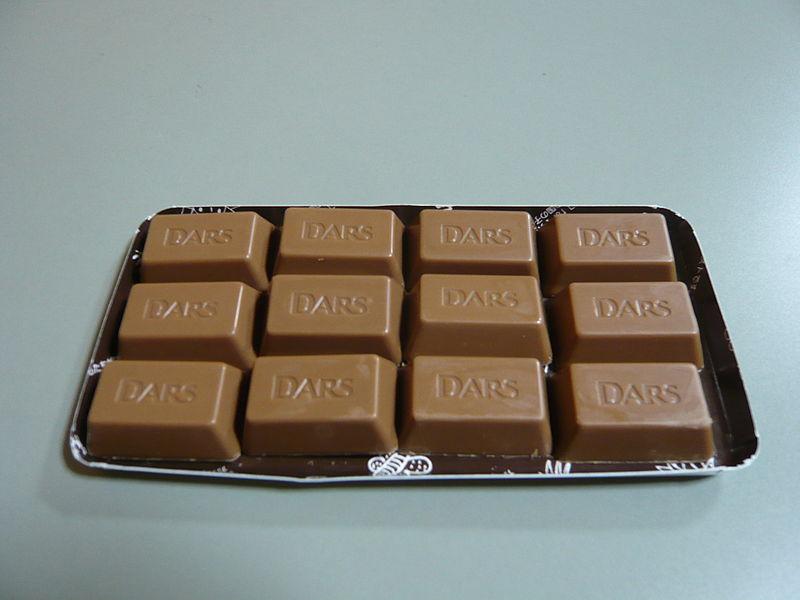 dars chocolate in Japan
