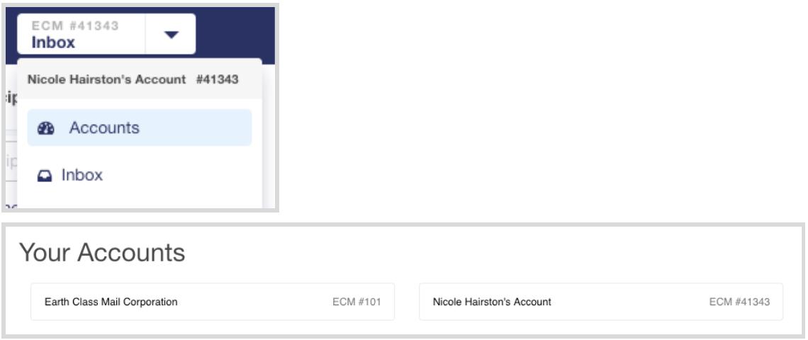 Access Multiple Accounts