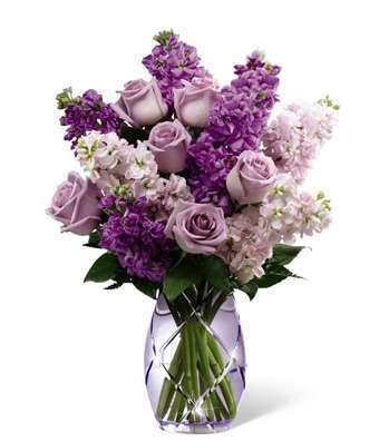 Example of Stock Purple Flowers