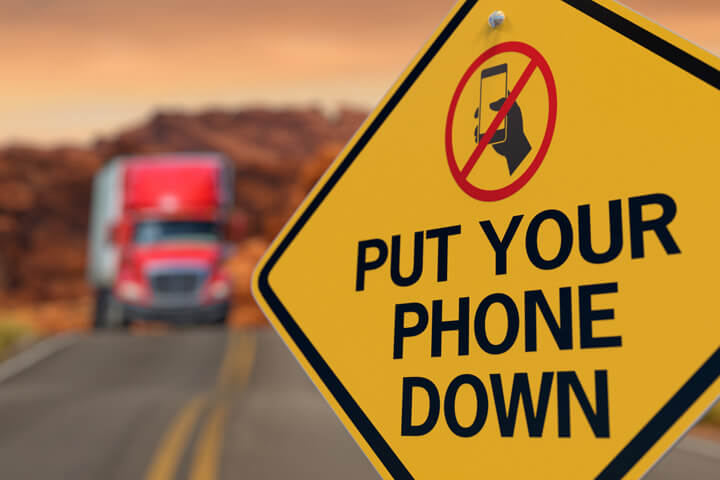 The Top 7 Most Common Truck Driving Distractions