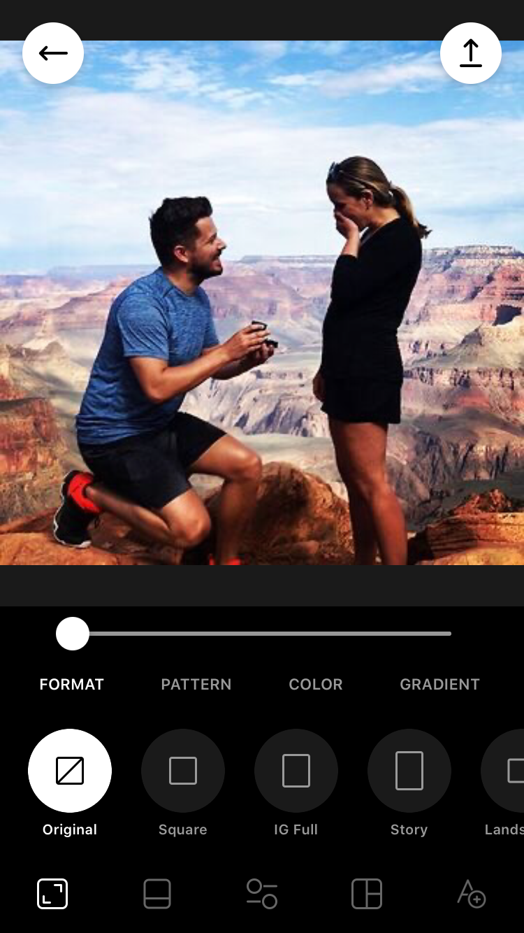 Adobe Lightroom CC photo editing app screenshot