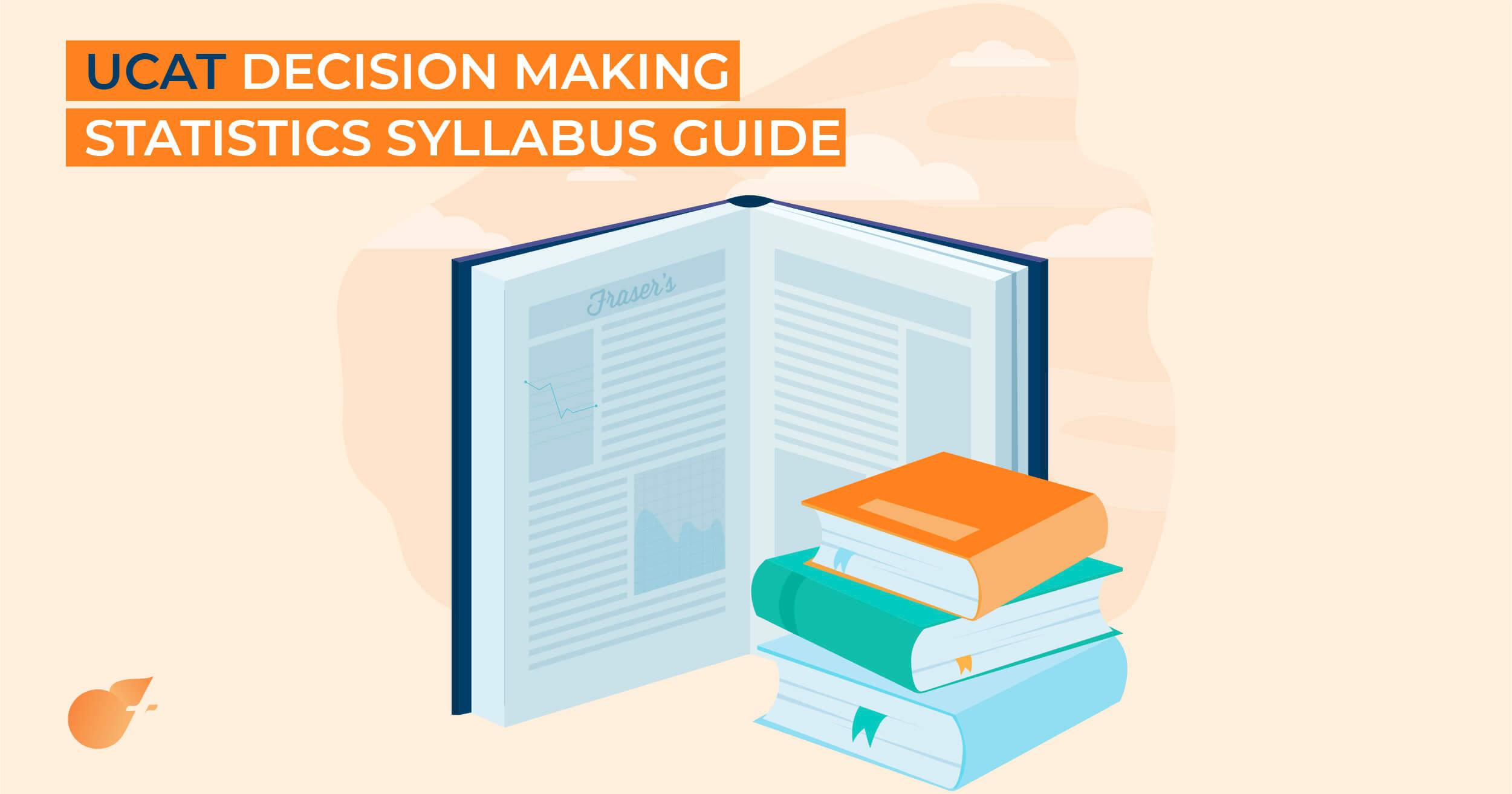 UCAT Decision Making Statistics Syllabus Guide