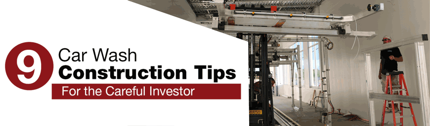9 car wash construction tips for the careful investor sonnys the 9 car wash construction tips for the careful investor sonnys the carwash factory solutioingenieria Image collections