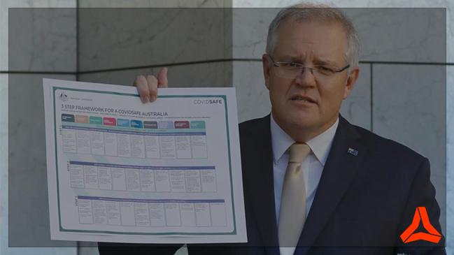Australian Prime Minister Scott Morrison 2020