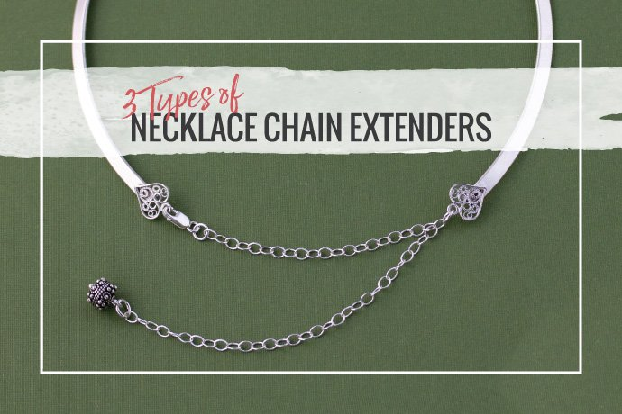 Don't get stuck with the wrong chain length! A fantastic way to upsell your jewelry is by offering necklace chain extenders which will exten