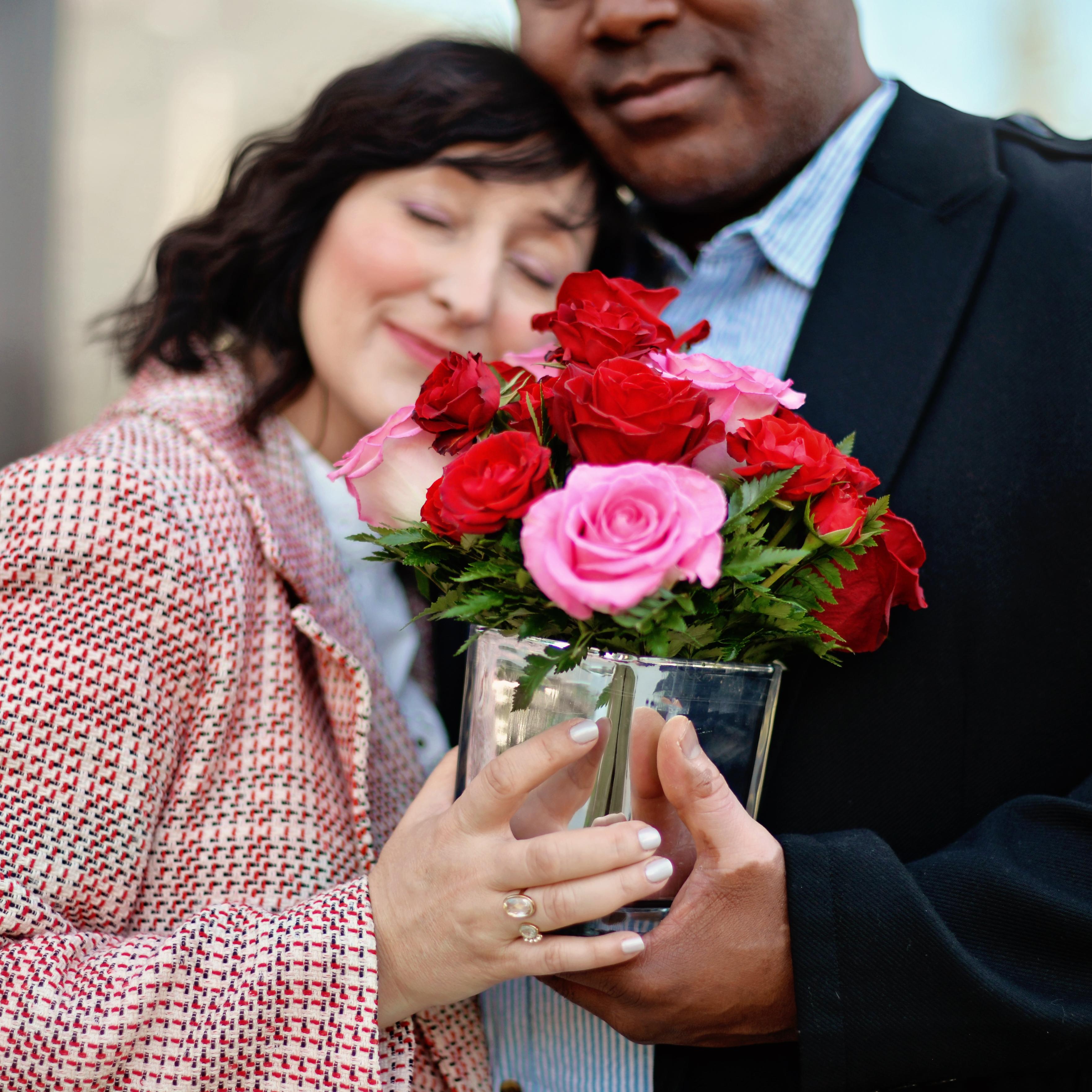 couple on valentine