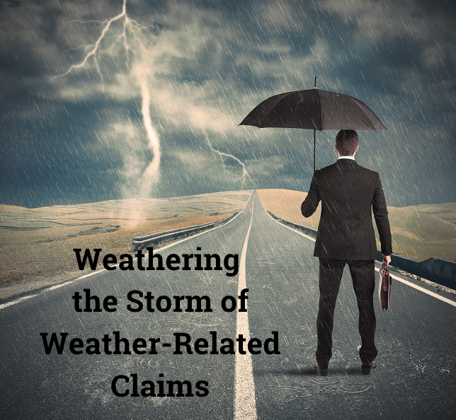 How to Get Through the Increase of Weather-Related Insurance Claims