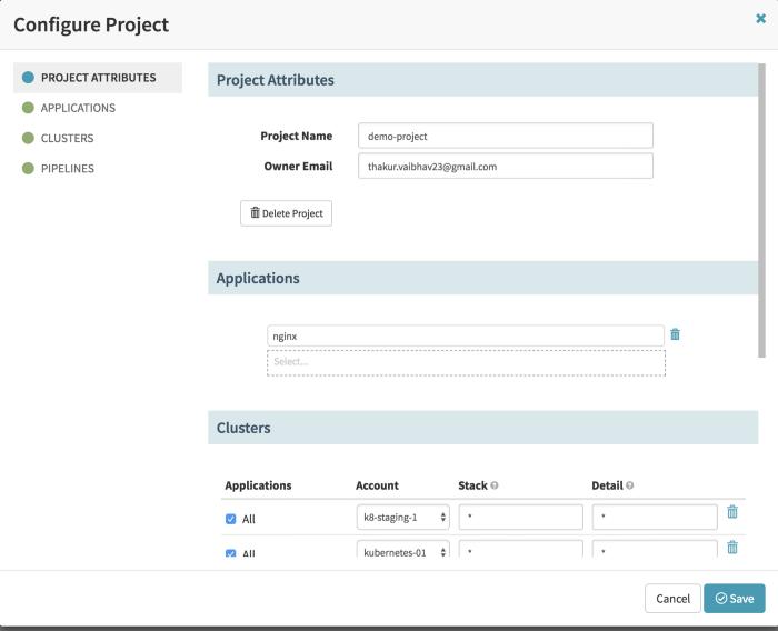Demo-Project Configuration