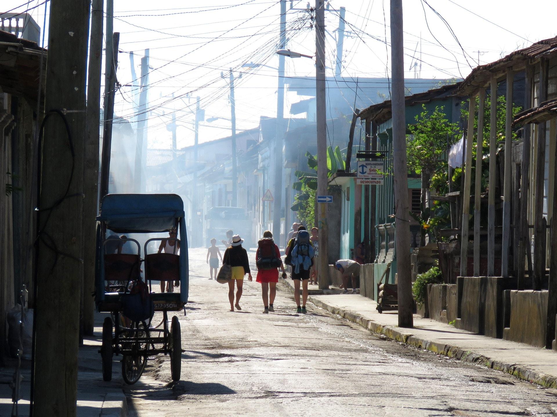 streets in cuba