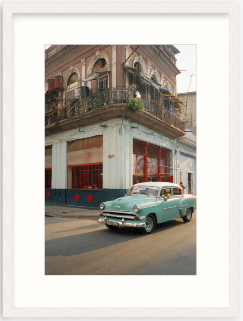 photograph of Cuba in frame