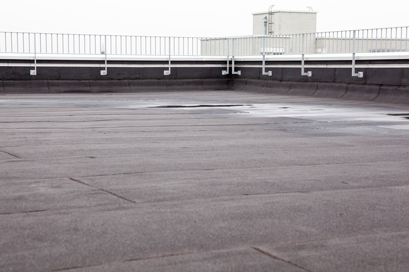 ugly gray flat roof