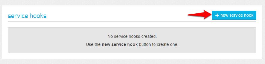 New Service Hook