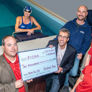 MSAA Names Endless Pools® as Swim for MS Title Sponsor