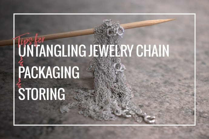 Learn tips on untangling jewelry chain! Jewelry footage and finished chain tend to tangle also we'll cover how to package and store them to prevent tangles.
