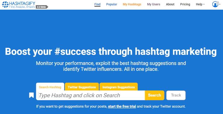 hashtagify social media for nonprofits