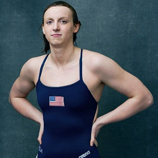 Olympic swimming sensation Katie Ledecky