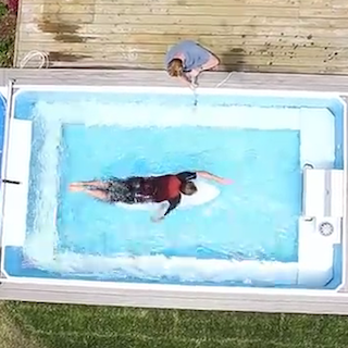 New Video: Learn Surfing Paddling in an Endless Pool