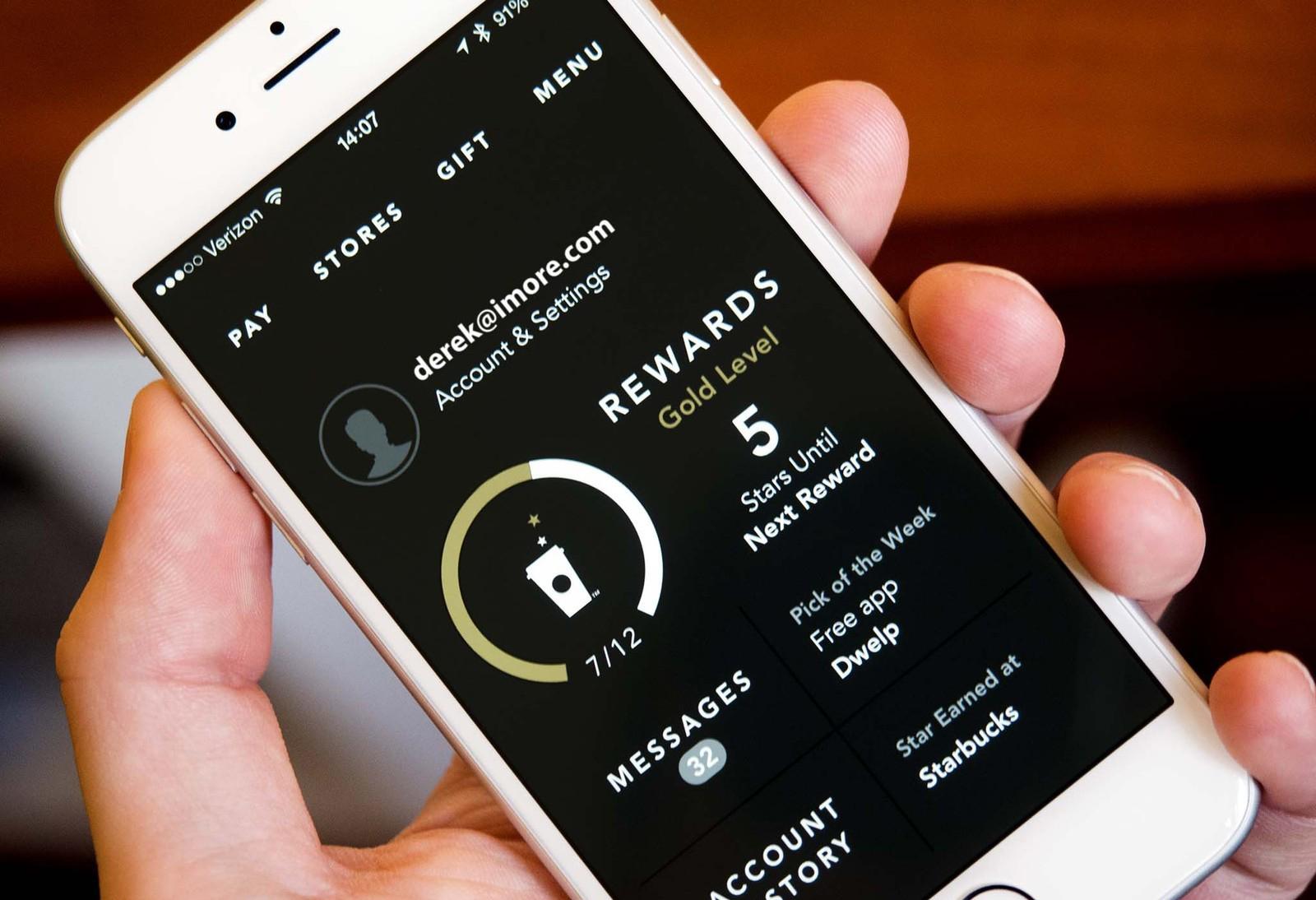 Image result for Starbucks app