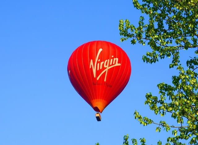 Photo: Richard Branson's Virgin brand