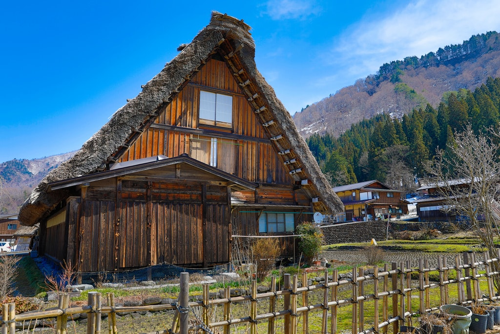 Shirakawago is one of the best places to visit in Japan