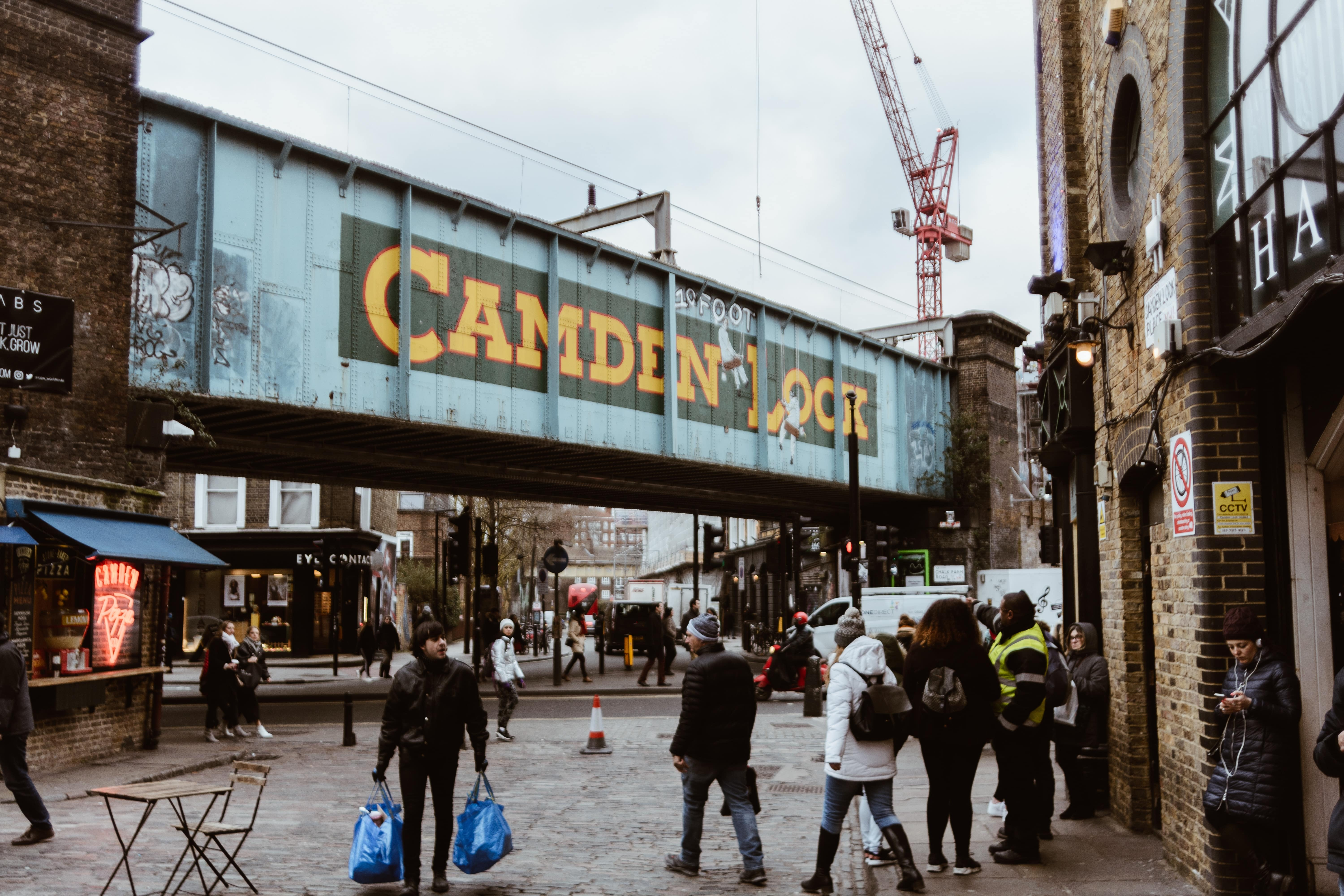 Camden is where to stay in London if you love music