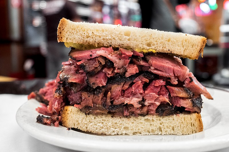 Katz's Deli is one of the most delicious places to visit in New York City