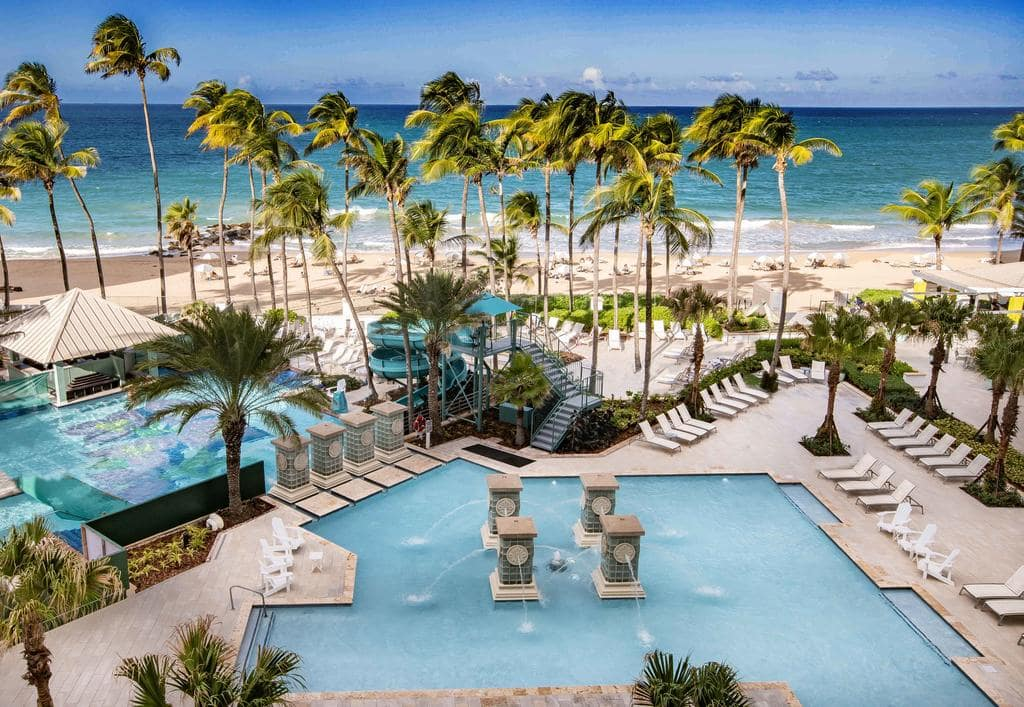 San Juan Marriott  is one of the many amazing San Juan Puerto Rico resorts
