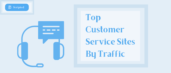 Top Customer Service Sites by Traffic