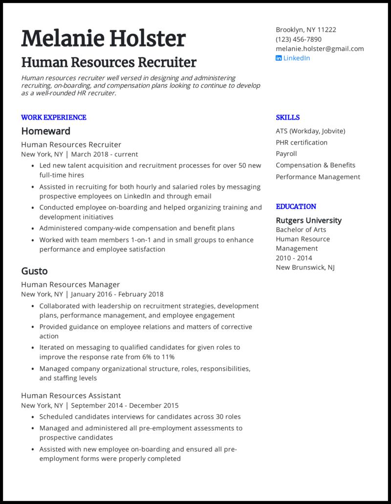 Recruitment sample resume custom persuasive essay editing services ca
