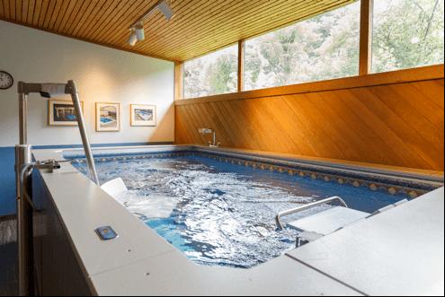 The Original Endless Pool at the Endless Pools Factory Showroom, Aston, Pennsylvania