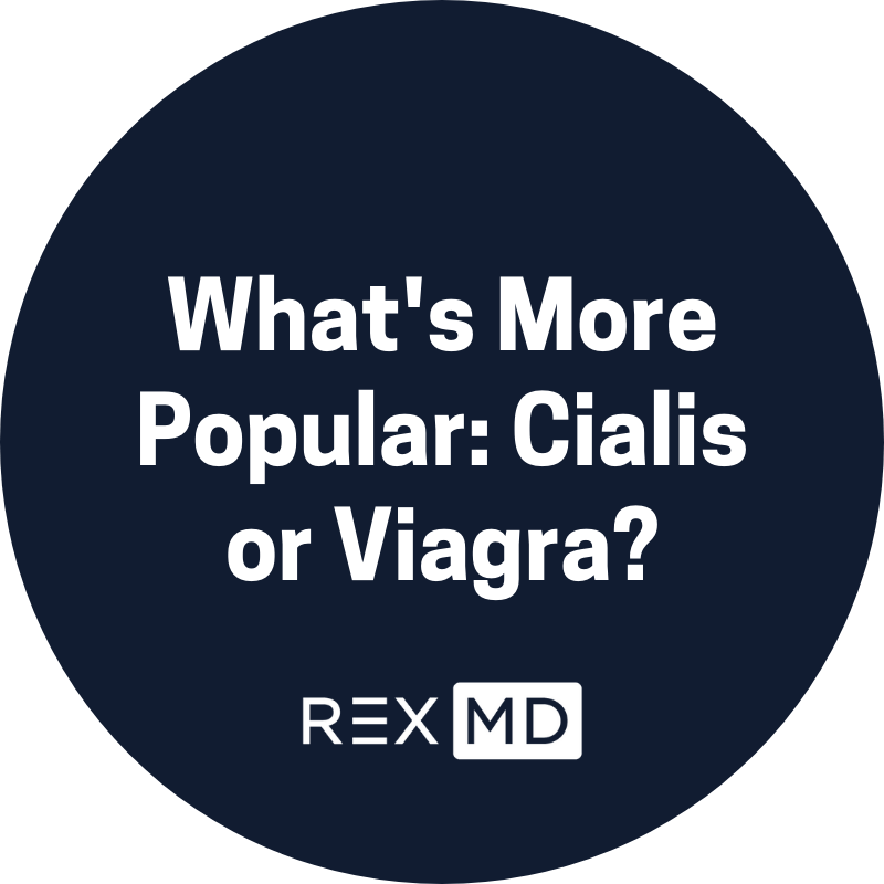 What's More Popular: Cialis or Viagra?