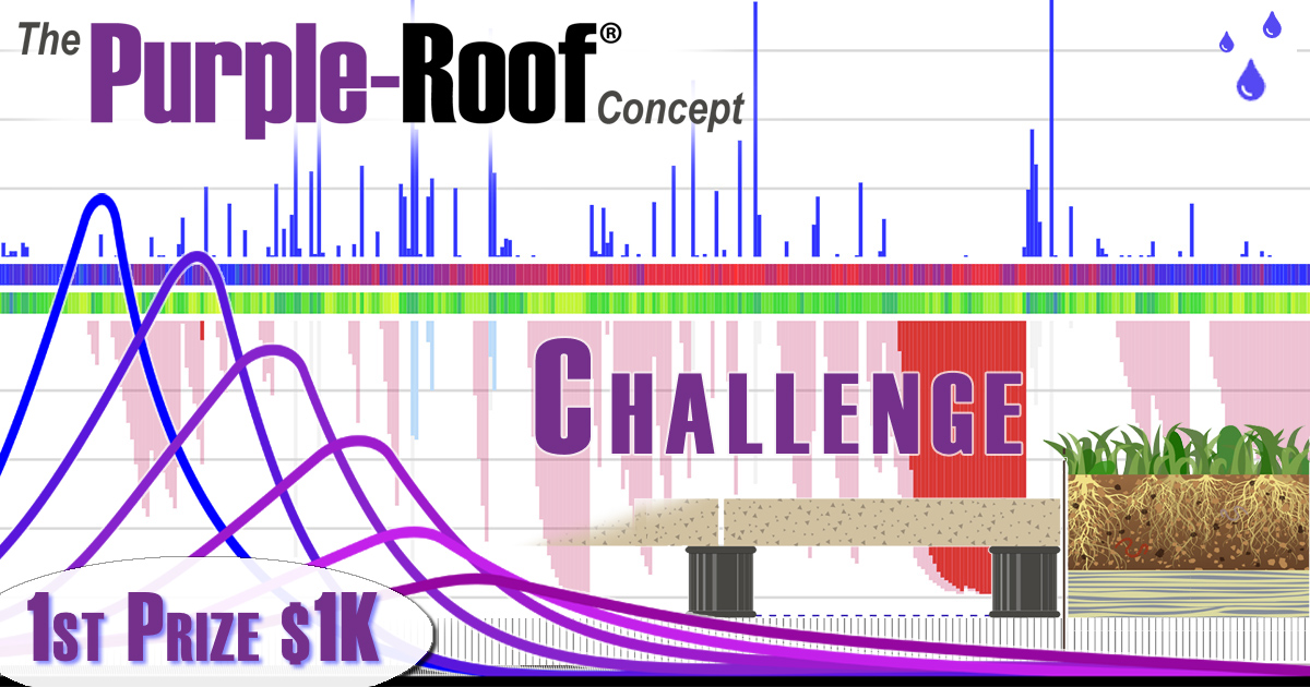 the Purple-Roof Challenge featured image stormwater green roof details
