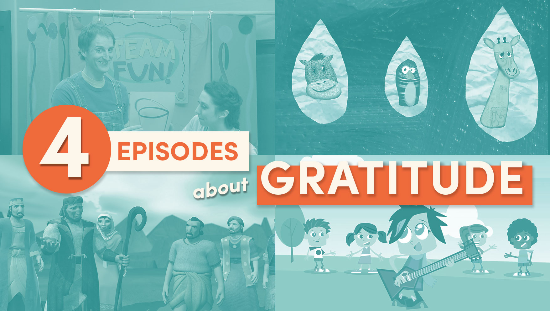 4 Christian Shows that Teach Kids about Gratitude