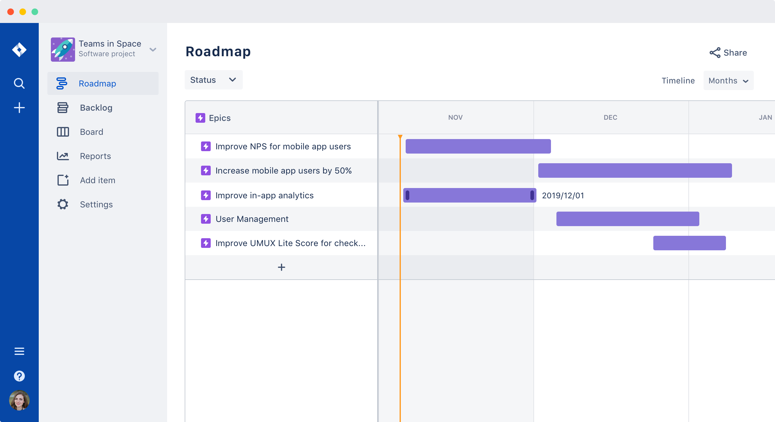 Jira for Roadmaps