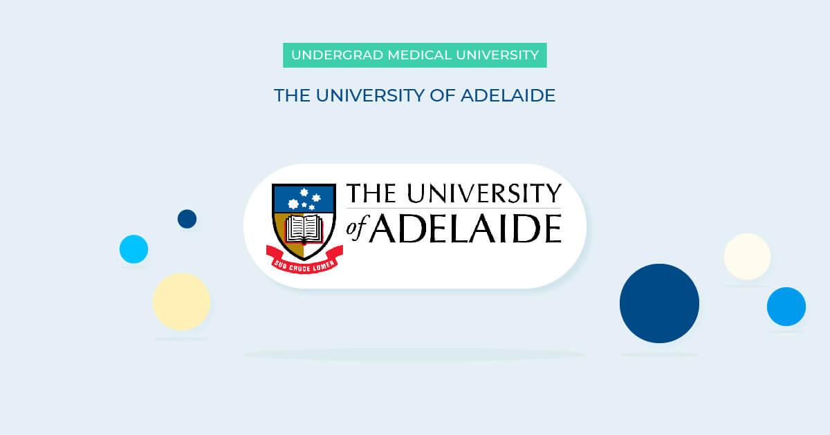 university of adelaide undergraduate medicine